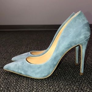 Blue Suede Steve Madden pump/Heel/stiletto